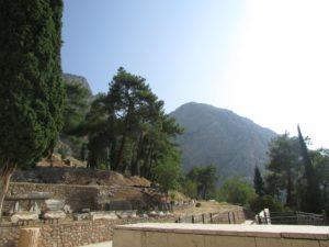Orakel van Delphi, augustus 2016; fotograaf NH